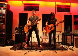 Mark Loughman Acoustic Gig with Gilby Clarke